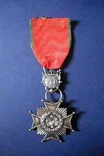 Medalhas de Guerra: Cruz de Combate de 2ª Classe