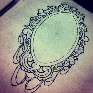 Filigree Frame Tattoo | Frame Tattoo Sketch Like. likes: 34 3