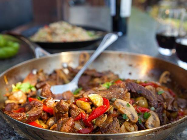Sauteed Sicilian Lamb #myplate #protein #veggies: Lamb Recipes, Food Network, Sicilian Lamb, Lamb Stew Meat Sauted, Guys Fieri, Sauteed Sicilian, Healthy Food, Cooking Foodist, Sauted Sicilian