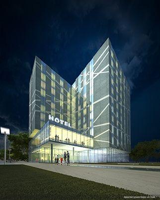 «Hilton» Hotel Complex in Ekaterinburg City