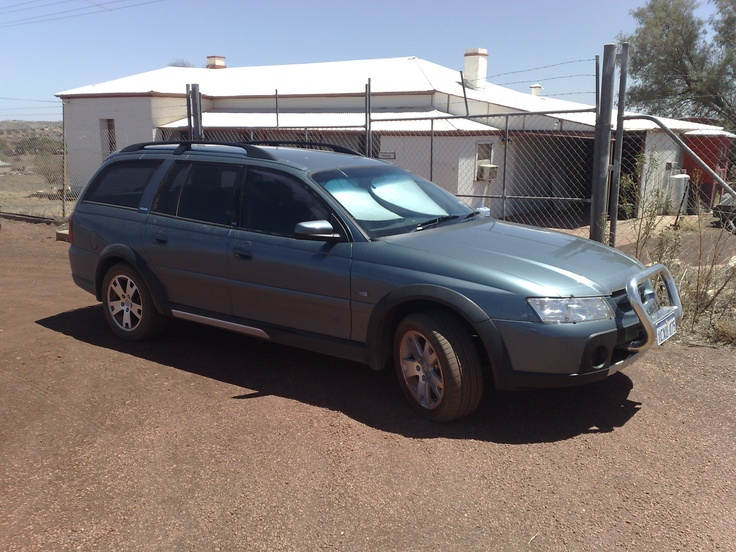 Holden V6 Adventra 2006 AWD. Commodore station wagon body, with Jeep CrossTrack running gear