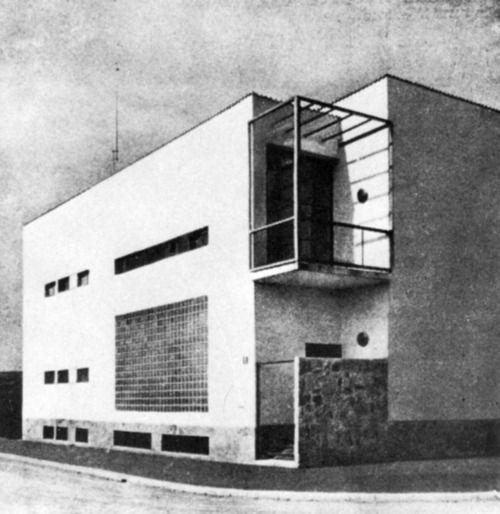 Franco Albini - Villa Pestarini, Milano, 1937-38