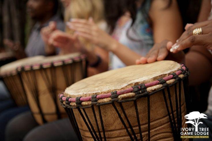 Ivory Tree Game Lodge - Interactive Drumming
