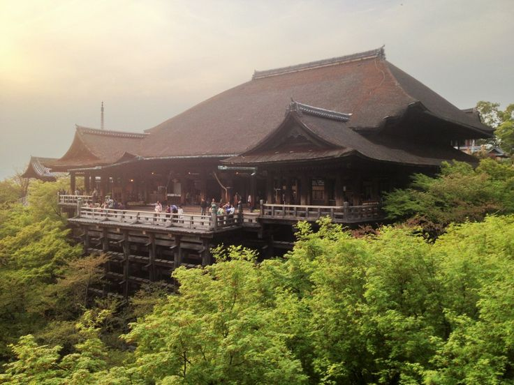 One of the must see Kyoto temples - Kiyomizu-dera.