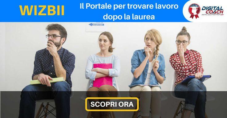 Scopri come funziona Wizbii, il primo portale pensato per aiutare i neolaureati a trovare lavoro. Finalmente disponibile anche in Italia.