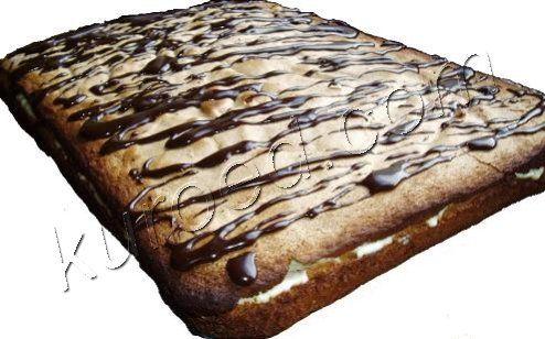 Бисквитный торт Мартовский заяц или Пушистик