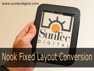Reputed digital conversion companies proving specialized conversion services such Nook Fixed Layout Conversion can customize services as per the requirement and the budget of the customer. Read more..