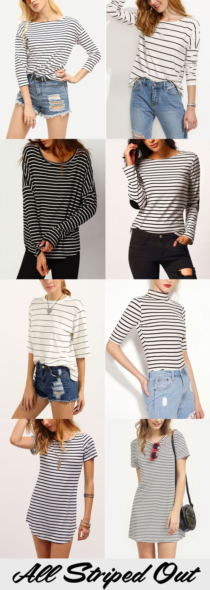 Striped Style from romwe.com