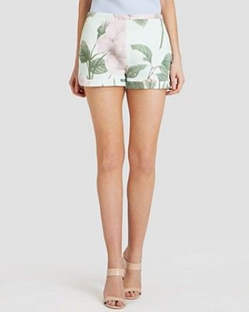 Petra Solano wore Denyse Distinguishing Rose Shorts from Ted Baker on Jane the Virgin