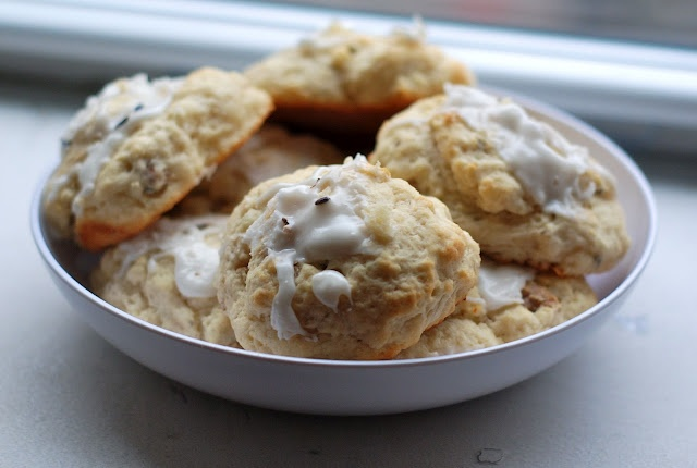 Yummy!!!! Lavender and Toasted Walnut Scones
