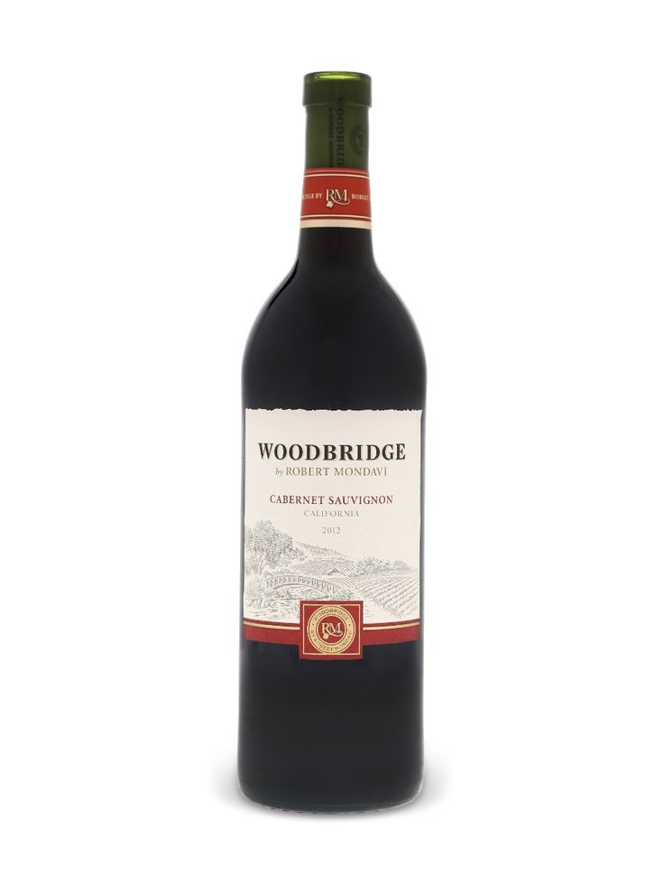 Woodbridge By Robert Mondavi Cabernet Sauvignon 6 grams dry  13.00