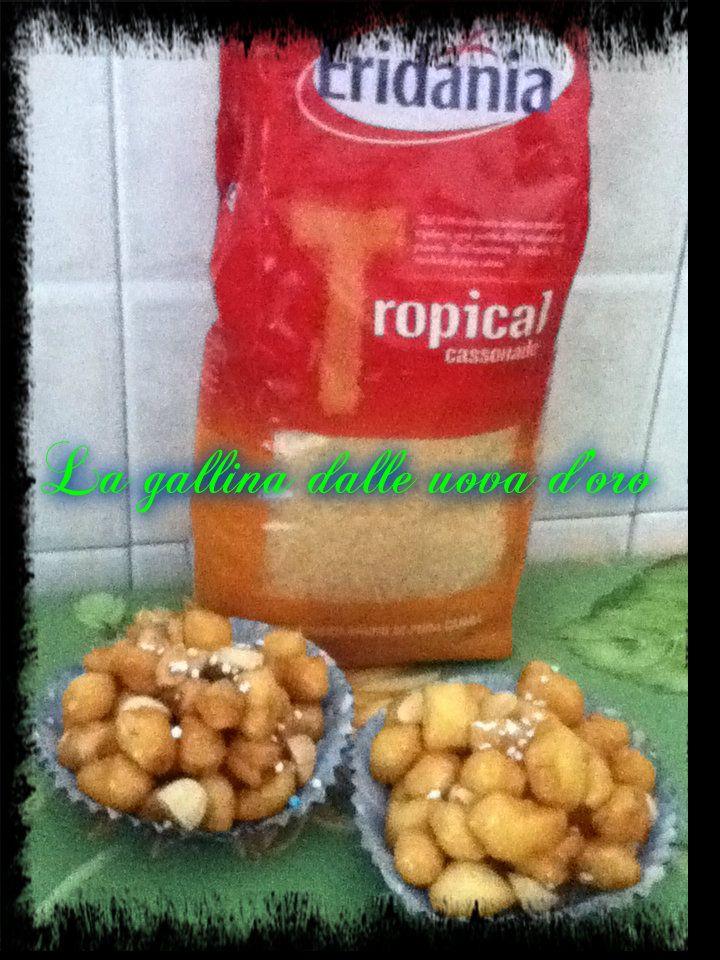 Cicerchiata Tropical - con  Eridania la ricetta sul mio blog http://monicu66.blogspot.it/2015/03/cicerchiata-tropical-con-eridania.html#comment-form