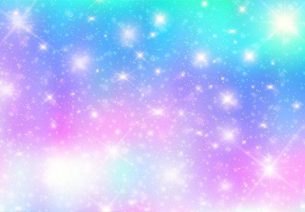 Illustration Of Galaxy Fantasy Backgroun Free Vector Freepik Freevector Freebackground Freepatter Fantasy Background Photography Backdrops Colour Star