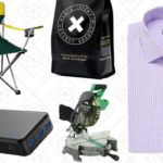 Today's Best Deals: Hyper-Caffeinated Coffee, Custom-Fit Shirts, NCAA Tailgating Chairs, and More