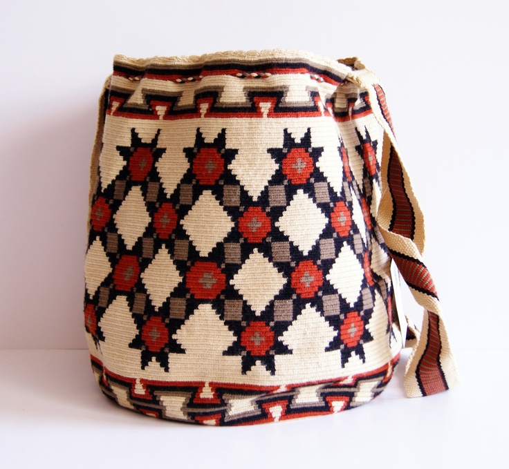 Wayuu One Tread Large Bag