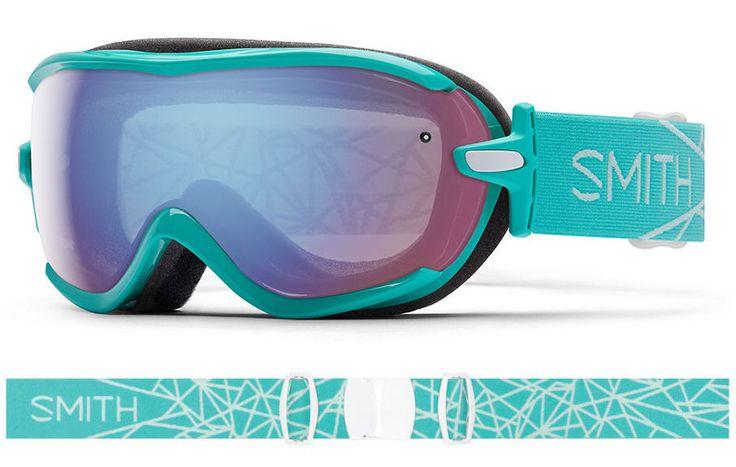 2016 New Smith Optics Virtue Opal Women's Ski Goggle Blue Sensor Lens | eBay