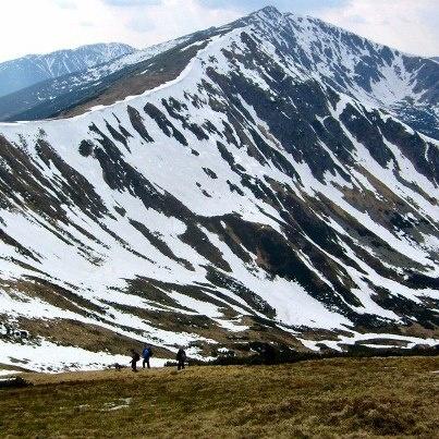 Nízke Tatry-pohľad z Pod Krúpovou hoľou na Chopok,Dereše/2011/