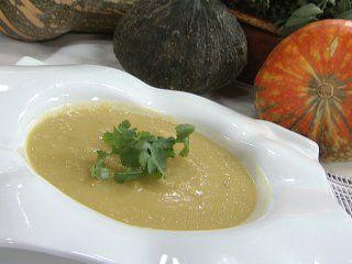 Sopa de calabaza con batata y jengibre | Sabores de Ensueño con Mario Pagán | FOX Play