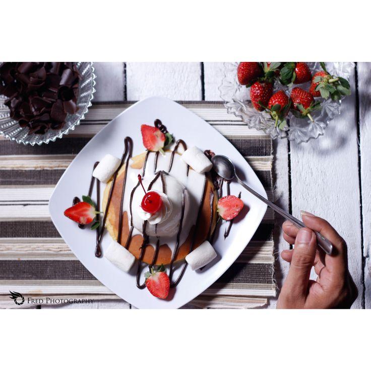 Pancake Ice Cream #fredphotography