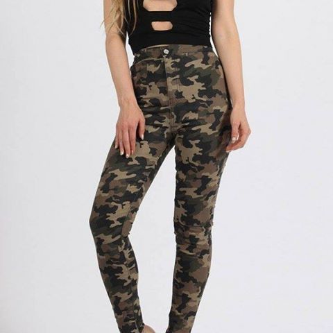 Who wouldn't want to be trendy all the time? #keepittrendy store has got you covered! Order this #highwaisted #camo #pants from their #soldigo #onlinestore here:  https://keepittrendy.soldigo.com/camo-high-waisted-stretchy-skinny-jean_40208 #fashion #sellonlinewithsoldigo #beyourownboss