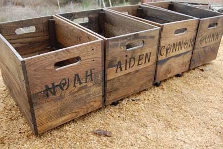 wooden fruit crates wholesale - Google Search