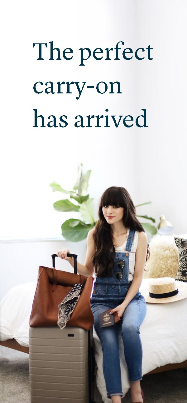 """""""We're in love with Away's simple and chic bags that make travel a breeze."""" - Allure"""