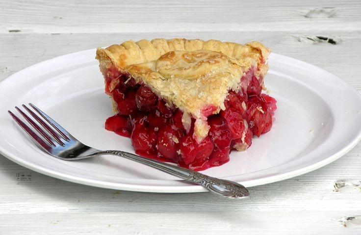 Door County Recipes. Cherry Pie.