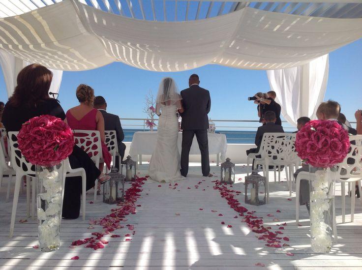 Albufeira beach weddings Designs by www.algarveweddingsbyrebecca.com