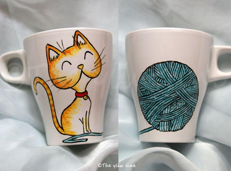 tazas pintadas a mano - Buscar con Google