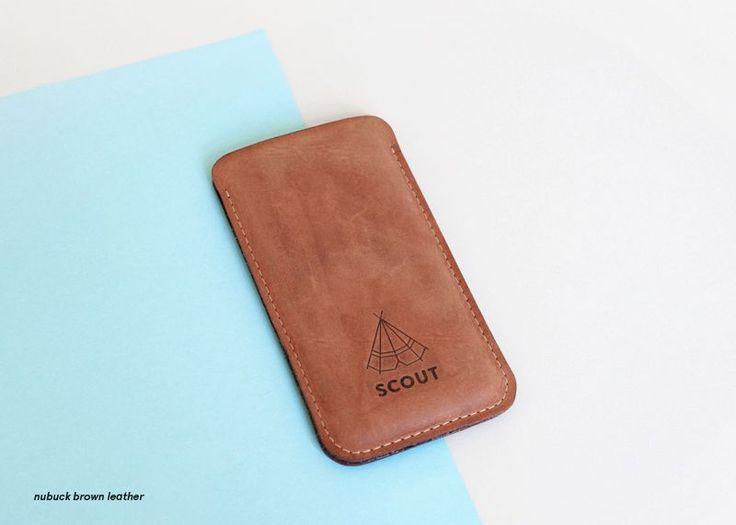 Scout Supply - Housse en cuir Iphone 5/5C/5S