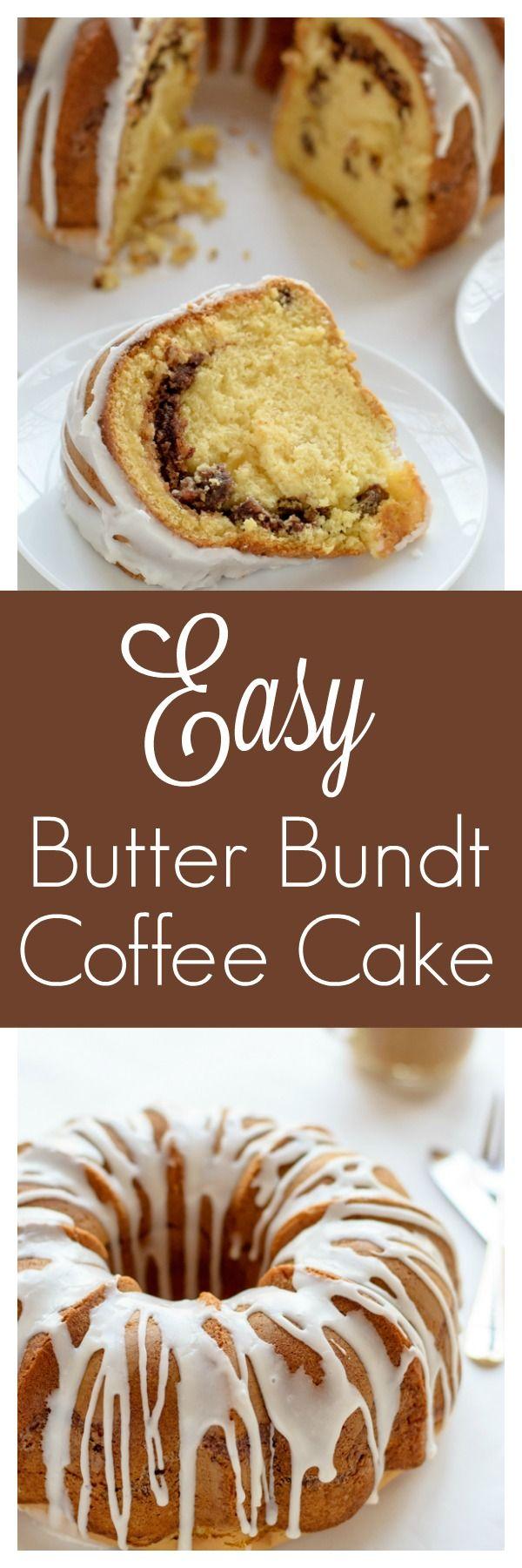 Butter Bundt Coffee Cake. Hands down the most moist