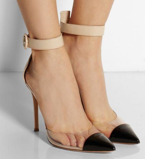 Korean Pointed Toe Ultra High Heel Banquet Beautful Cheap Prom Shoes