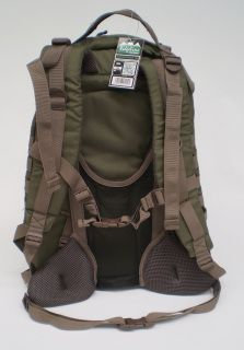The perfect pack for long days in the bush or overnight. Superb quality and plenty of features make this pack truly versatile. - Air frame construction allows circulation between you and the pack. - Great for Hunting or Hiking. - Military style molle gear attachment points. - Spacious 35L capacity great for long days or overnight. - Hydration reservoir compatible. (bladder not included) - Based on current RRP