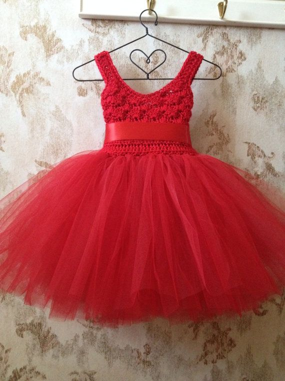 Hey, I found this really awesome Etsy listing at https://www.etsy.com/listing/203117872/red-empire-flower-girl-tutu-dress