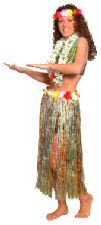 Hawaiian Flower Hula Skirt. This multi-coloured skirt is perfect to wear for a Hawaiian Party, http://www.novelties-direct.co.uk/Hawaiian-Flower-Hula-Skirt.html