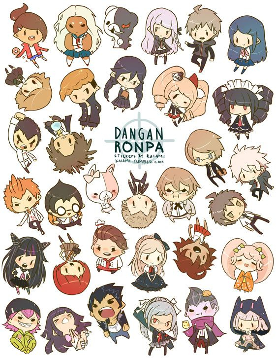 Kaiami | Dangan Ronpa Stickers | Online Store Powered by Storenvy
