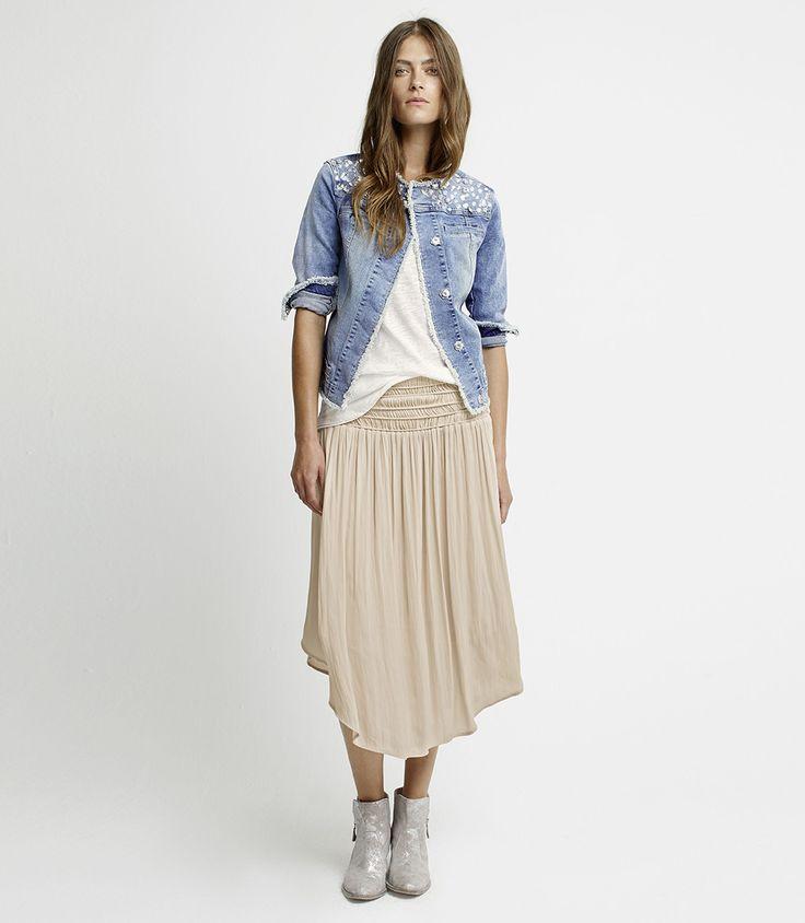 Lookbook - Marc Aurel - Jacket Shirt Skirt Shoes