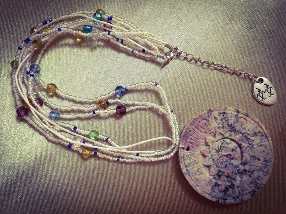 This Light pastel Coloured Necklace is a by JewelrySimplyCharmed