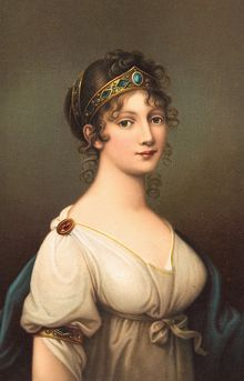 Louise of Mecklenburg-Strelitz, later Queen of Prussia, niece of Queen Charlotte of Great Britain