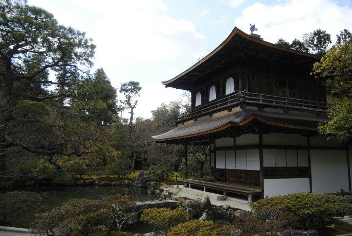 silver temple. kioto