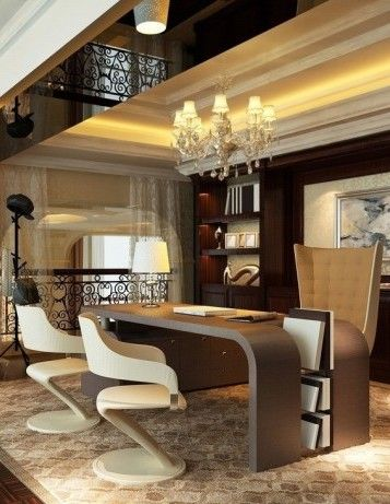 Design Contract Present Elegant Luxury Corporate And Home Office Interior Ideas For Commercial Architects Designers