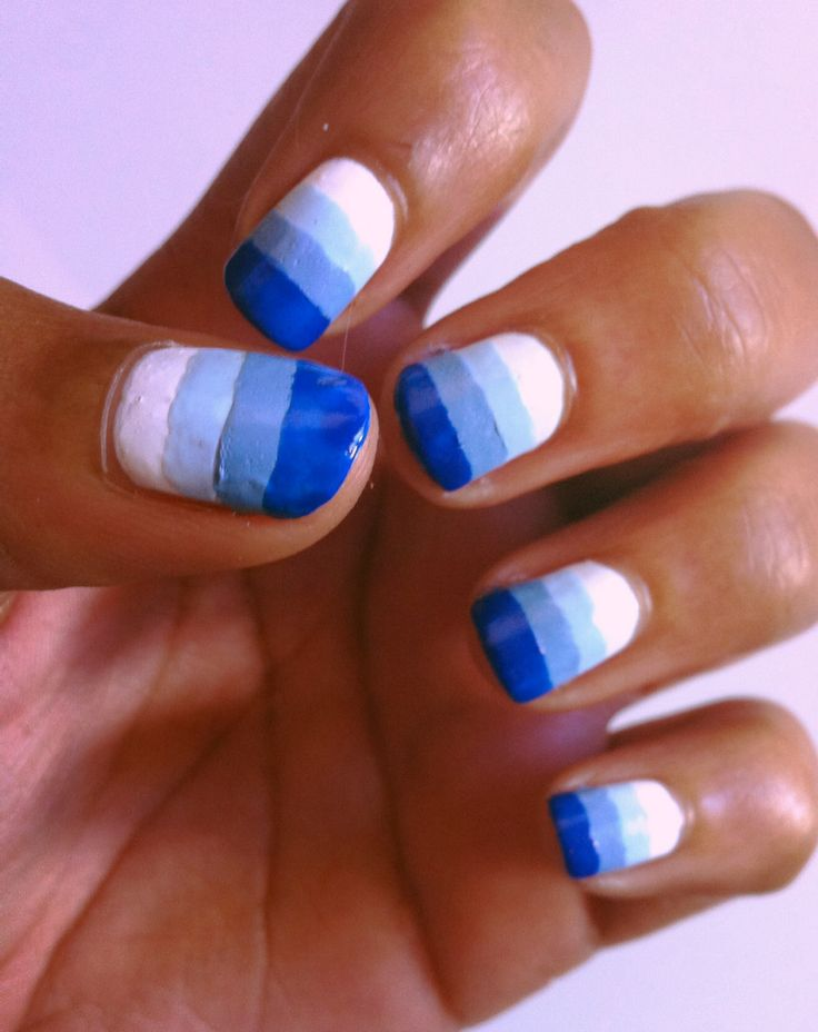 Stripy Blue