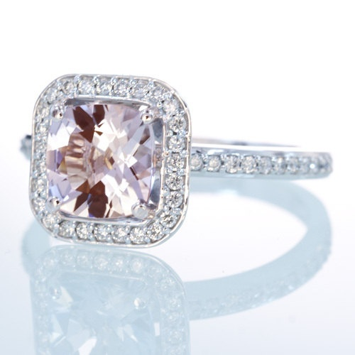 1000 images about morganite engagement ring on