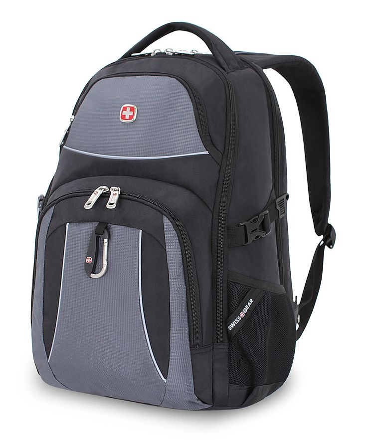 Black Cod & Gray Swiss Gear 18.5'' Backpack