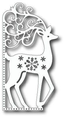 Tutti Designs - Dies - Scrolly Deer Edge