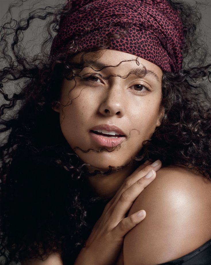 Alicia Keys The Voice Hair