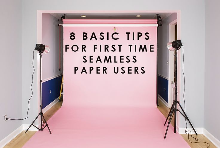 8 Tips for First Time Seamless Paper Users | Backdrop Express Blog