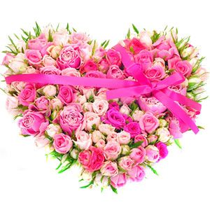 Convey your deepest feelings to your special love with this beautiful floral arrangement. Heart shape arrangement of 75 pink roses. http://www.tajonline.com/valentines-day-gifts/product/v2863/elegant-love-in-pink/?Aff=pint2014/
