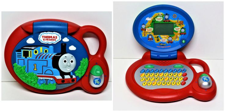 Thomas the Tank Engine Learn & Explore Laptop VTech Electronic Toy computer
