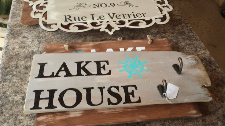 great board I made for the lake/cottage